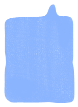 Speechbubble periwinkle